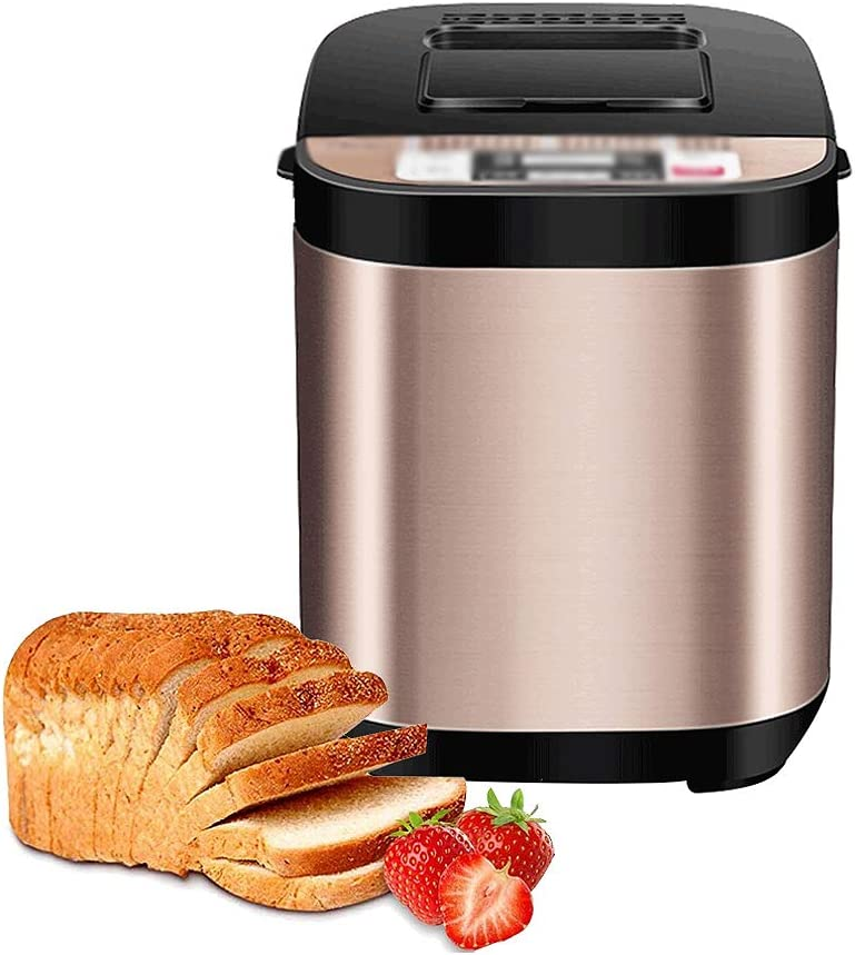 ZTCWS Bread Machine Stainless Maker Steel Programmable Ma Max Super beauty product restock quality top! 61% OFF