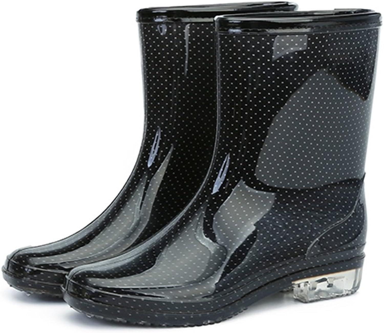 NgMik Outdoor-Damenschuhe Outdoor-Damenschuhe Outdoor-Damenschuhe Rutschfeste wasserdichte Damen-Regenstiefel für Erwachsene Regenmantel-Regenstiefel im Freien (Größe   38 EU) 7ca