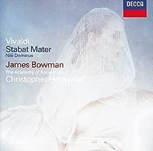 Vivaldi: Stabat Mater; Nisi Dominus; Concerto in G Minor