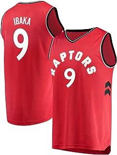 Franklin Sports Men's Serge Ibaka -Toronto Raptors Red Classic Vintage Jersey