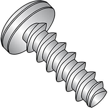 Pan Head Passivated Finish #10-32 Thread Size 18-8 Stainless Steel Thread Rolling Screw for Metal Pack of 25 3//8 Length Pack of 25 Star Drive Small Parts 1106RTP188 3//8 Length
