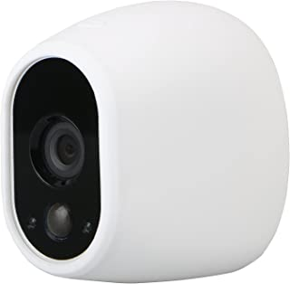 EEEKit Silicone Skins Protective Cover Case for Arlo Netgear Home Smart Security Wireless Camera (1-Pack White)