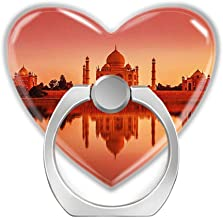HOME DECER-Cell Phone Ring Holder Finger Kickstand,360 Degree Rotation Stand Grip with Car Mount Compatible with All Smartphone,Taj Mahal India Sunset