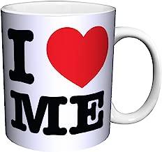 I Heart Me (I Love Me) Novelty Attitude Lifestyle Humor Quote Ceramic Gift Coffee (Tea, Cocoa) 11 Oz. Mug