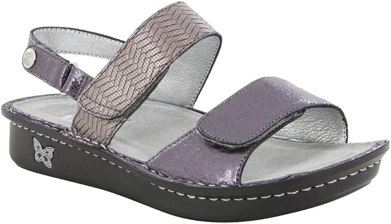 Women's Alegria, Verona Comfort Sandals PEWTER 3.7 M
