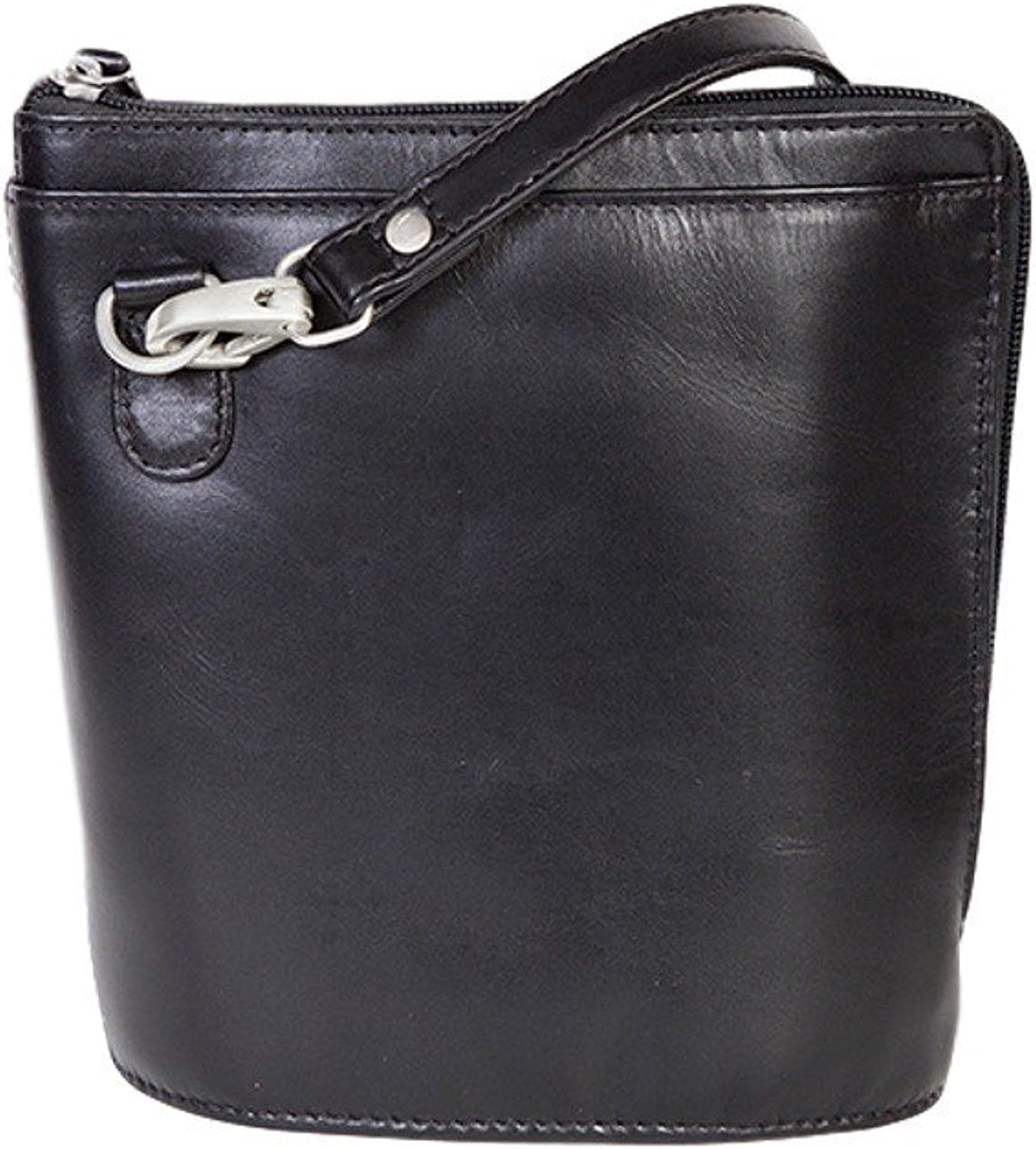 Scully Western Handbag Womens Leather Two Way Zip Adjustable Strap 521