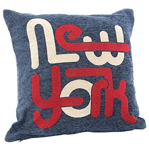 Indhouse Coussin 45 X 45 cm-New York