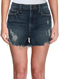 GUESS Womens Claudia Casual Denim Shorts
