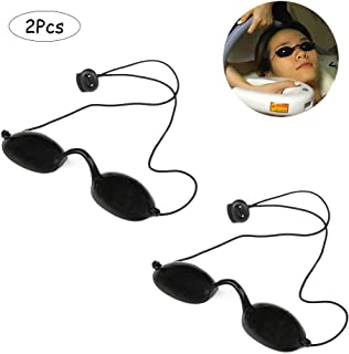 Ximimark Laser Eyepatch Safety Glasses Light Protective Goggles IPL Beauty Clinic Patient,2Pcs