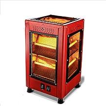 DW&HX Calefactor Cuarzo, Portátil Electrico Barbecue Calentador del Cuarzo Calentador de Espacio Chimenea Estufa -B