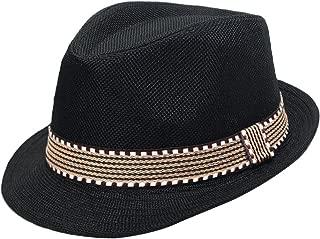 Kid Boys Fedora Hat Jazz Cap Cotton Photography Trilby Top Sun Hats