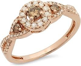 Best 3 diamond ring rose gold Reviews