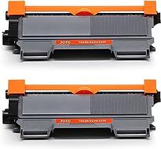 JOTO TN2220 TN2010(2 Negro,5200 Páginas) Cartuchos de Tóner,Compatible Brother TN 2220 TN 2010 Reemplazo para Brother MFC-7360N DCP-7065DN DCP-7055 DCP-7055W DCP-7060D HL-2230 HL-2240 FAX-2840