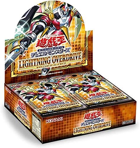 アジア版 遊戯王 LIGHTNING OVERDRIVE BOX(初回生産限定版)(+1ボーナスパック 同梱) 1BOX 30パック入り