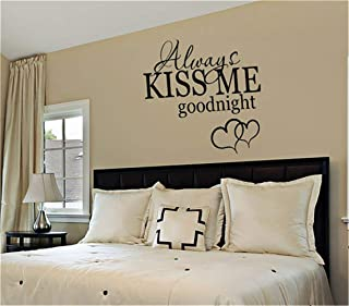 Best always kiss me goodnight wall sticker uk Reviews