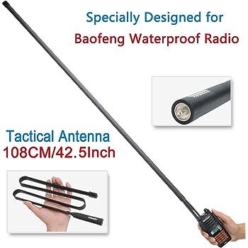 For BaoFeng UV-82 UV-5R GT3 UV-5RE SMA-Female 144//430MHz Dual Band Radio Antenna