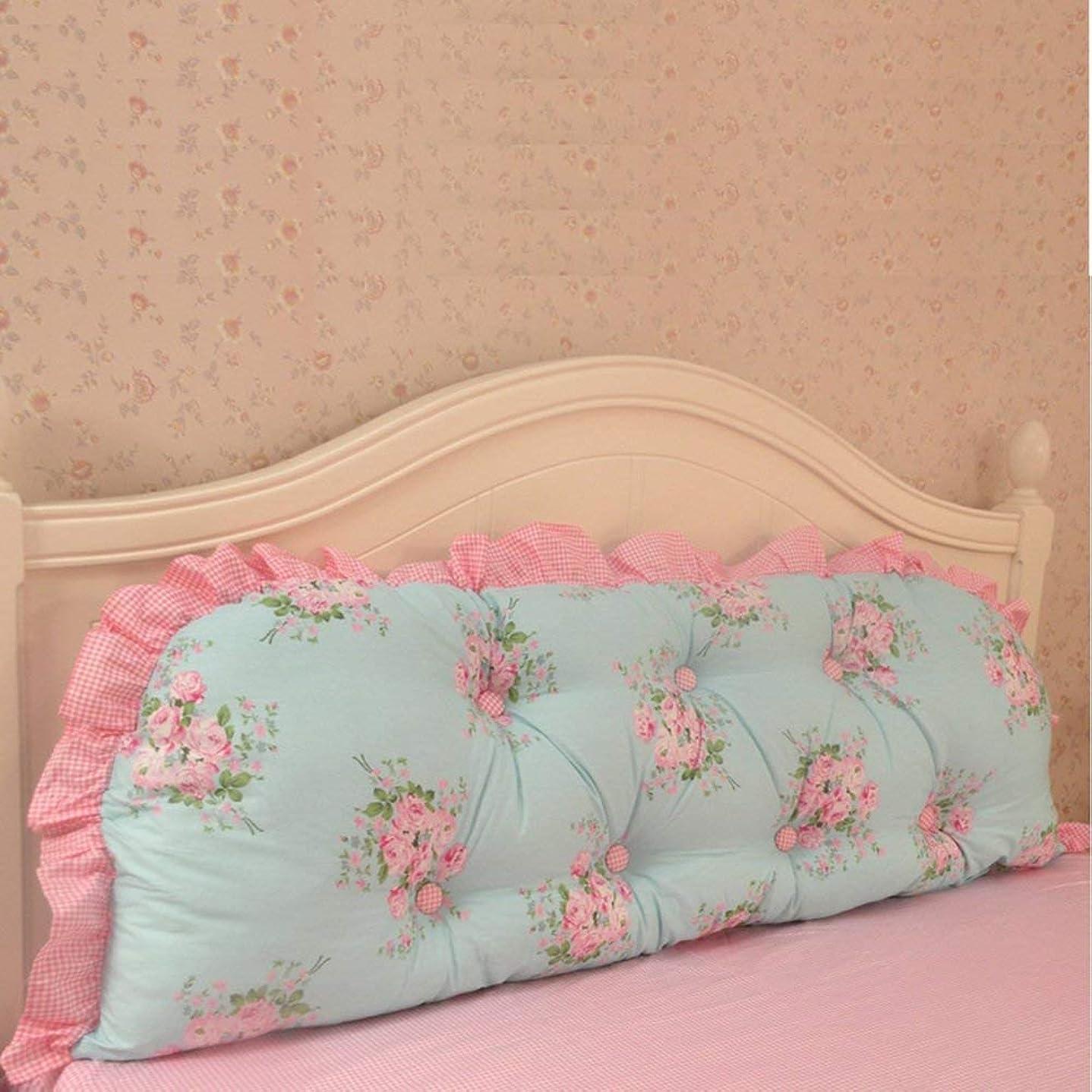 ライター忘れるかもめ2J-QingYun Trade 綿の枕元の読書枕、背部クッション王女のベッド長い枕取り外し可能なあと振れ止めの位置決めサポート枕 (Color : J, サイズ : 170x45cm(67x18inch))