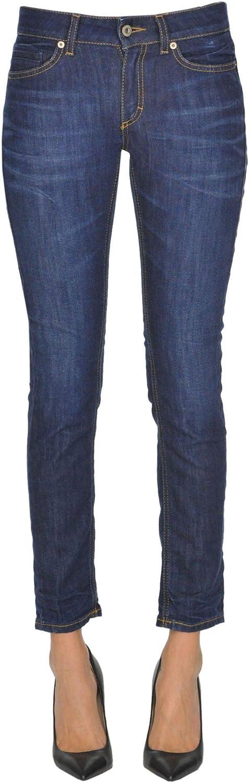 Dondup Women's MCGLDNM000005032E bluee Cotton Jeans