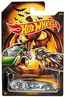 Hot Wheels Halloween 2019 Die-Cast Metal Vehicle Series 3/6 GBC57 Covelight - Clear Body Sportscar with Pumpkin on Side