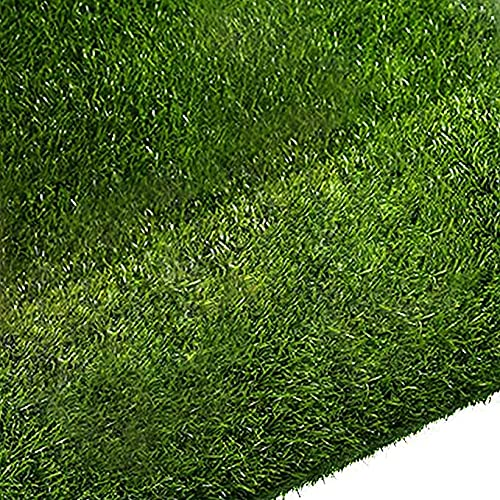 Quesuc La Alfombra de Césped Artificial Premium Para Balcones y Terrazas | Césped Artificial Rollo Exteriores es Permeable al Agua con Protección UV, 10 mm de Altura (100x100 cm)