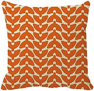 Starings Pillowcase Orange Crush Pillow Cover for Car