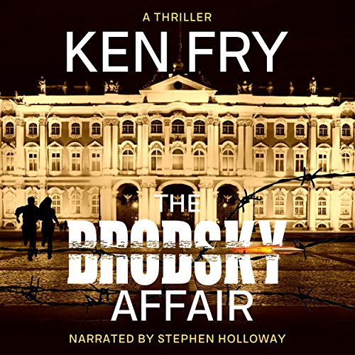 The Brodsky Affair audiobook cover art