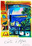 ABLERTRADE Metal Sign 8X12 Inch Cote d' Azur Picasso