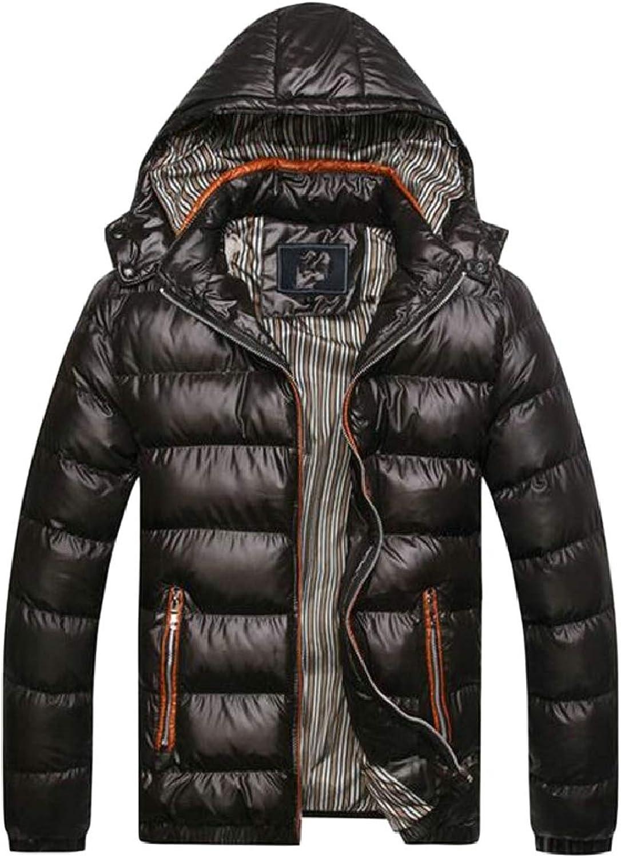 Xswsy XG-CA Men's Winter Hoodie Thicken Warm Puffer Padded Down Jacket