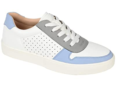 Journee Collection Comfort Foam Elle Sneaker (Blue) Women