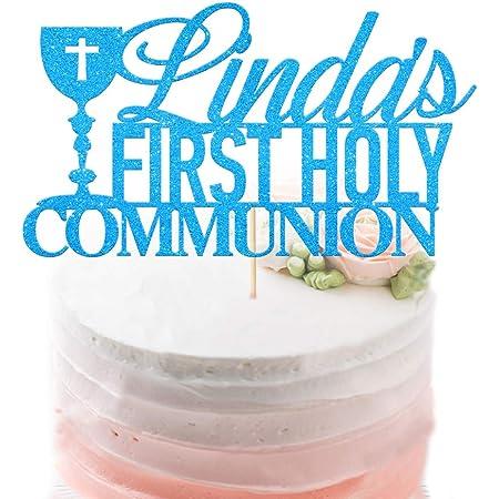 1st Holy Communion Cake Topper Boy First Communion Decoration Praying Boy 15 cm