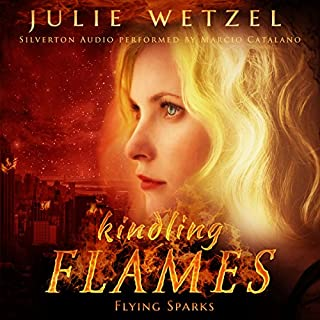 Kindling Flames: Flying Sparks     The Ancient Fire Series, Book 2              Written by:                                                                                                                                 Julie Wetzel                               Narrated by:                                                                                                                                 Marcio Catalano                      Length: 8 hrs and 59 mins     Not rated yet     Overall 0.0