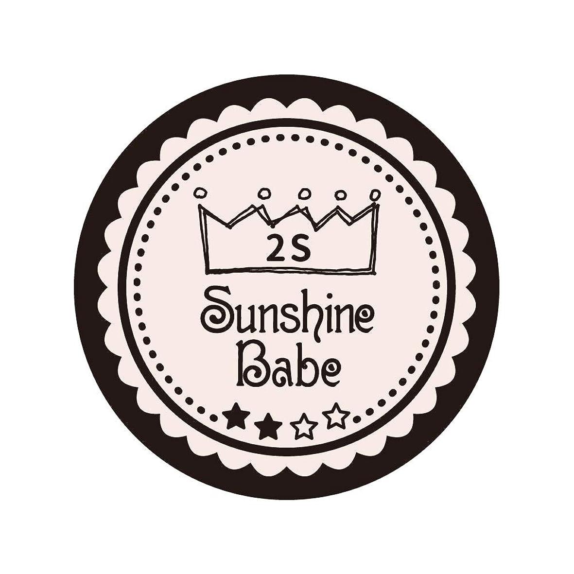 付与隣人させるSunshine Babe コスメティックカラー 2S オールモーストモーブ 4g UV/LED対応