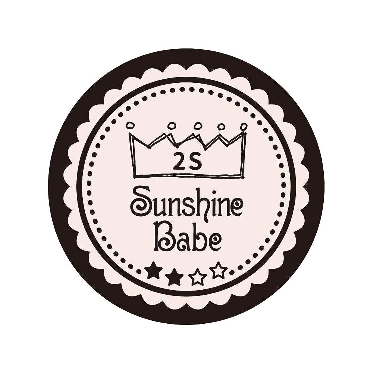 継承フロー労苦Sunshine Babe コスメティックカラー 2S オールモーストモーブ 4g UV/LED対応