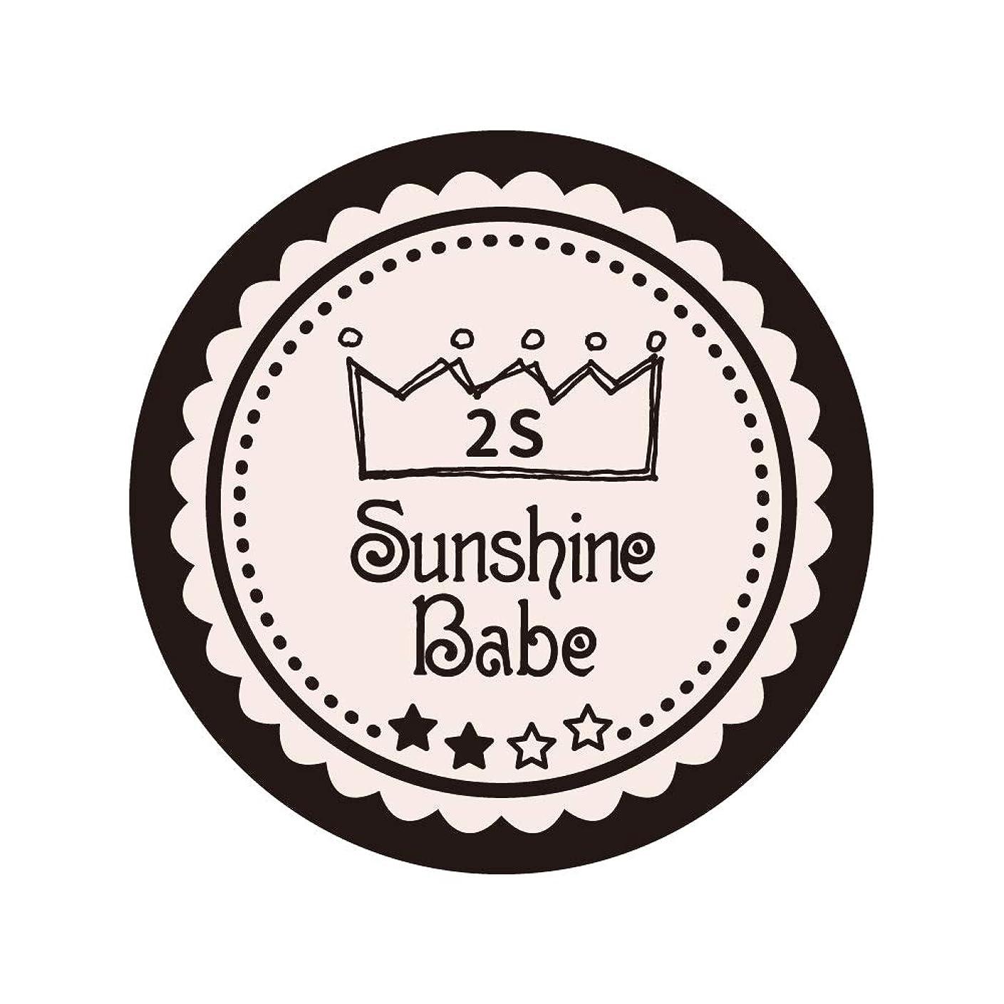 ディレイカルシウムビーチSunshine Babe コスメティックカラー 2S オールモーストモーブ 4g UV/LED対応