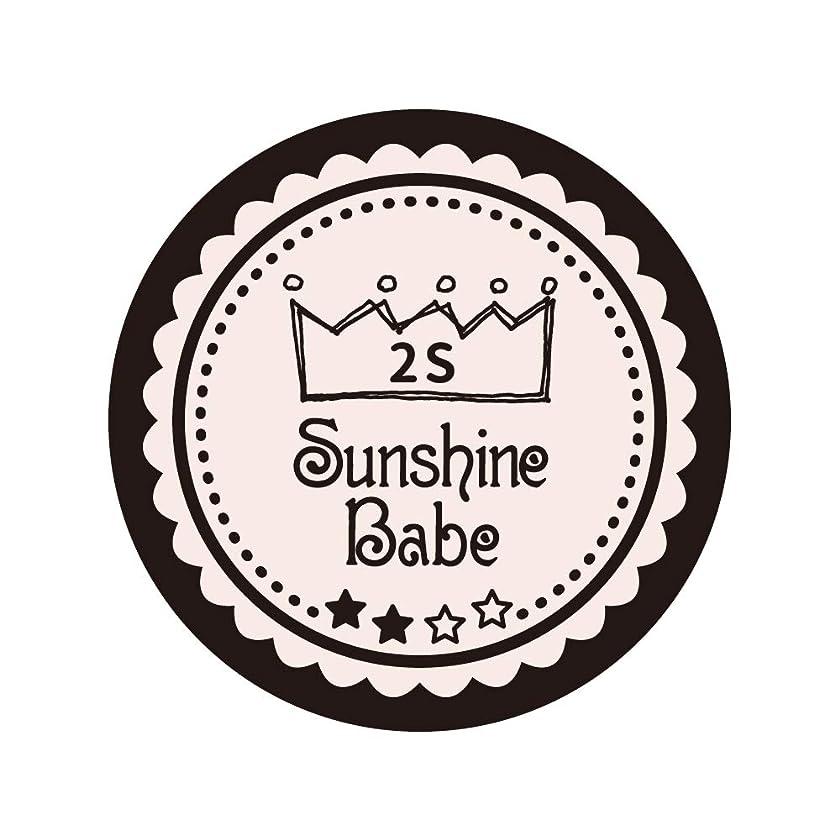 陰気些細文房具Sunshine Babe コスメティックカラー 2S オールモーストモーブ 4g UV/LED対応