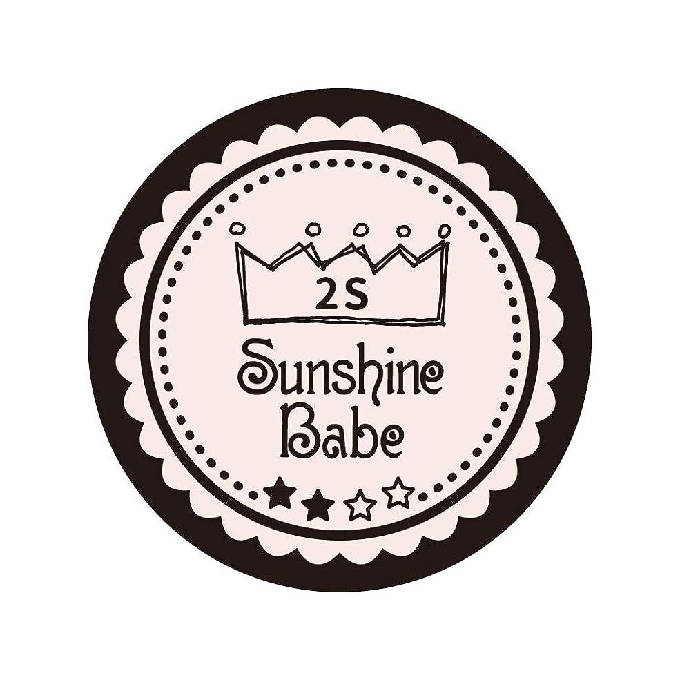 出力誇張罪悪感Sunshine Babe コスメティックカラー 2S オールモーストモーブ 4g UV/LED対応