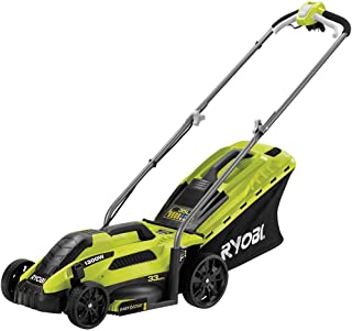 comprar comparacion Ryobi RLM13E33S RLM13E33S-Cortacésped eléctrico (ancho de corte de 33 cm, 1300 W, Negro, Verde