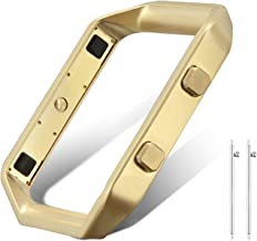 UMAXGET Frame Compatible with Fitbit Blaze, Replacement Accessory Stainless Steel Frame Compatible with Fitbit Blaze Smart Watch