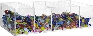 Boîte à bonbons de comptoir avec 5 compartiments