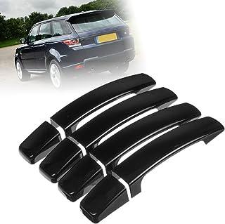 Viviance 7pcs Set Gloss Black Door Handle Covers Handles For VW Transporter T5 T6