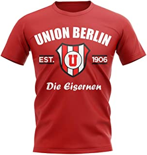 Airosportswear Union Berlin Established Football T-Shirt (Red)
