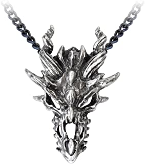 Best dragon skull necklace Reviews