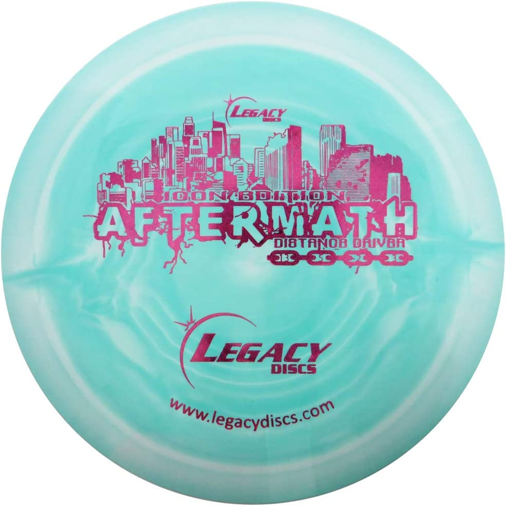Legacy Discs Swirly Sale 5 ☆ very popular price Icon Aftermath Golf Distance Disc Driver Co