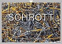 Faszination Schrott (Wandkalender 2022 DIN A4 quer): Faszinierende Ansichten von zum Recycling gesammelten Metallschrott. (Monatskalender, 14 Seiten )
