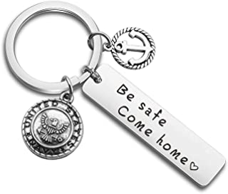 MAOFAED Air Force Navy Army Firefighter Police Officer Boyfriend Husband Gift Be Safe Come Home Policeman Fireman Military Mom Wife Gift Deployment Gifts