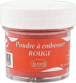Aladine - Poudre à Embosser Izink Tomato - Embossing - Effet Volume 3D pour Scrapbooking et Carterie Créative - Scrap en R...