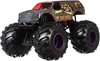 Hot Wheels One Bad Ghoul Monster Truck, 1:24 Scale
