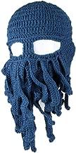 amurleopard unisex barbarian knit beanie octopus