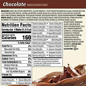 Premier Protein 30g Protein Shake, Chocolate, 11.5 Fl Oz, Pack of 12