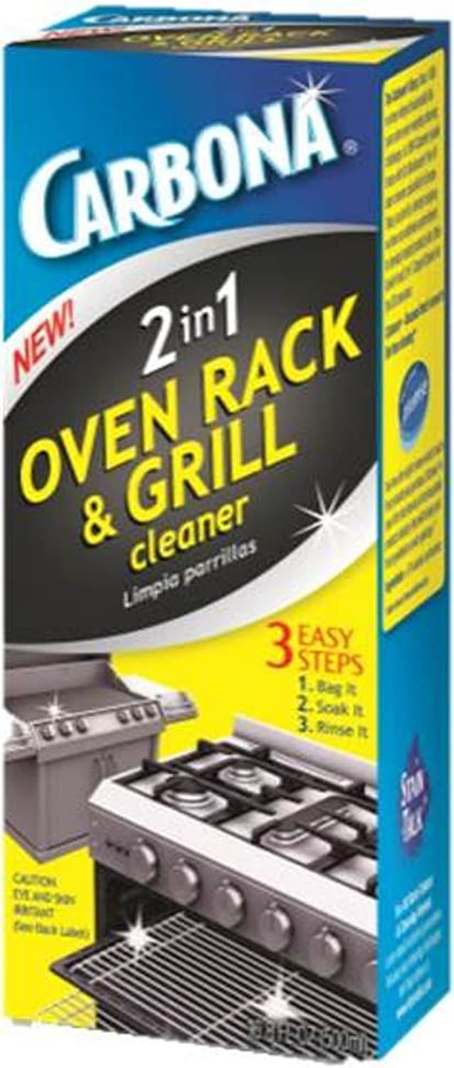 Delta Carbona 2-in-1 Oven Rack and Grill Cleaner, 16.8 Fluid Ounce (Pack of 6)